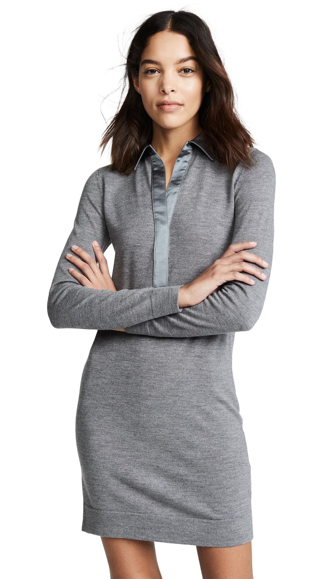 Club Monaco Sabrae Dress - Grey Mix/Grey