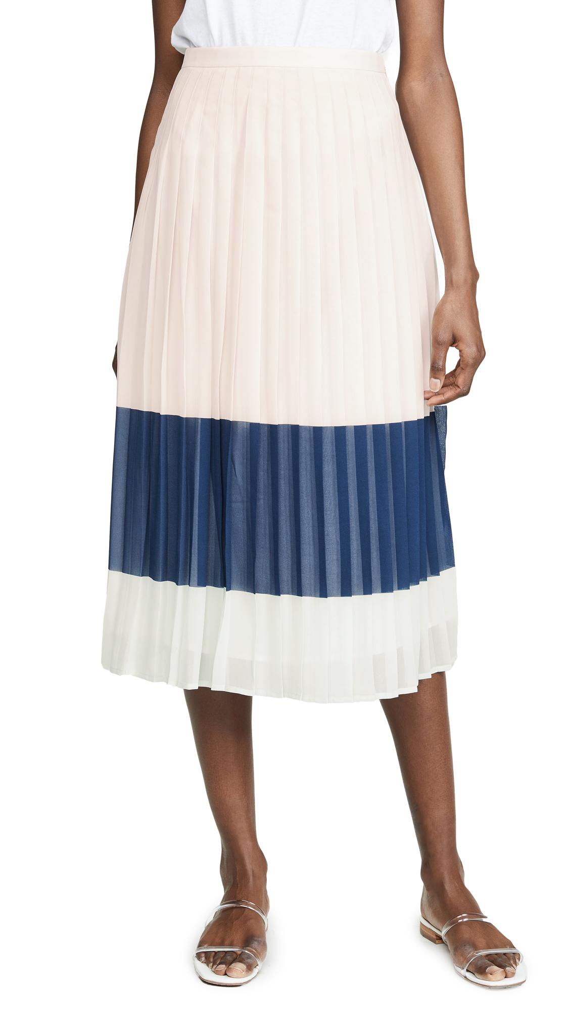 Club Monaco Majida Skirt - Multi Stripe