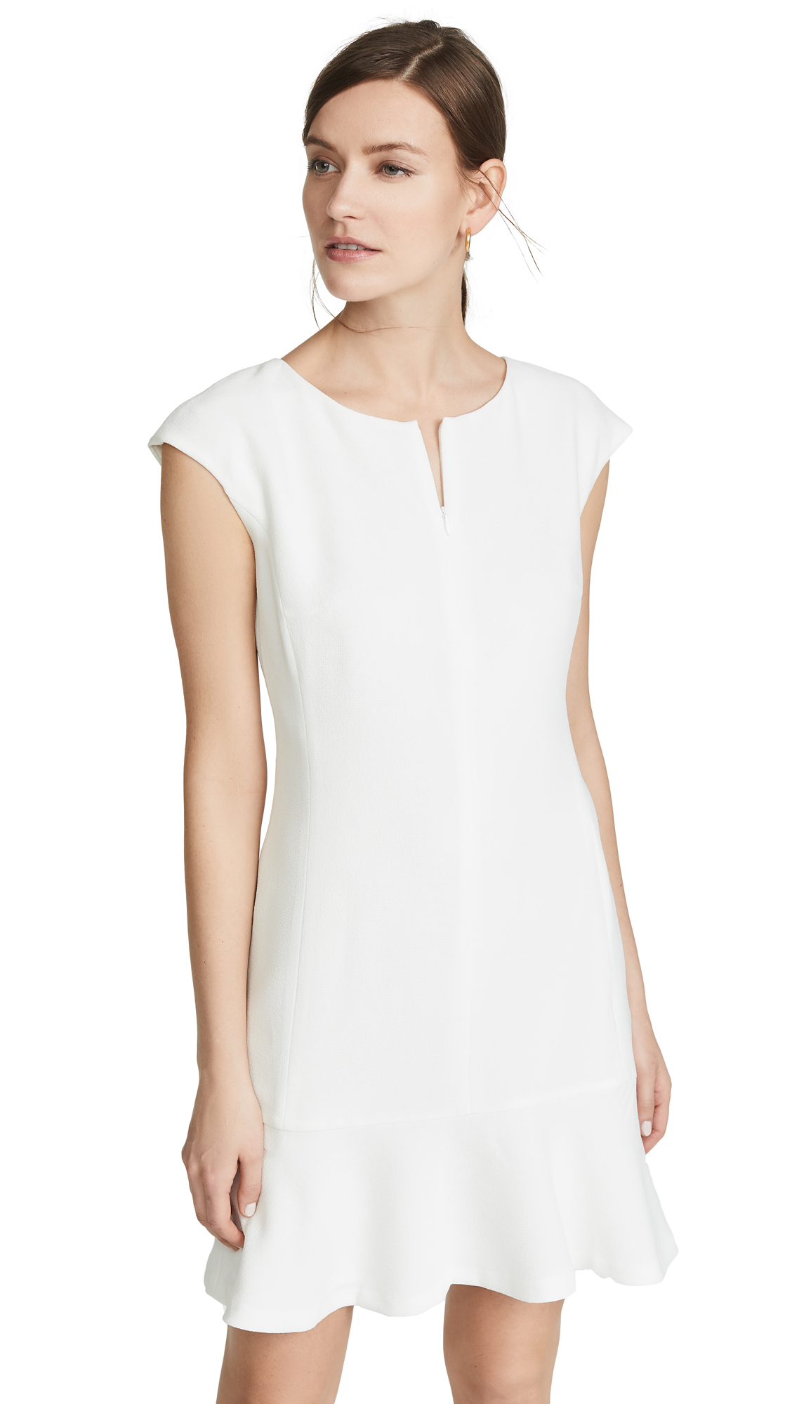 Club Monaco Wikendah Dress - White