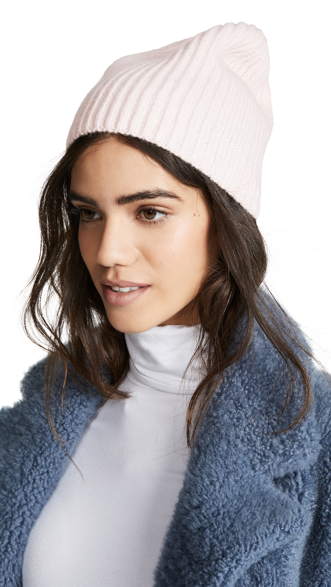 Club Monaco Cashmere Colleen Hat - Soft Pink