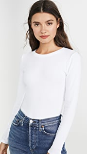 Club Monaco Carolena Long Sleeve Tee