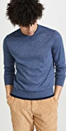 Club Monaco Double Hem Crew Sweater