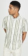 Club Monaco Slim Short Sleeve Shirt
