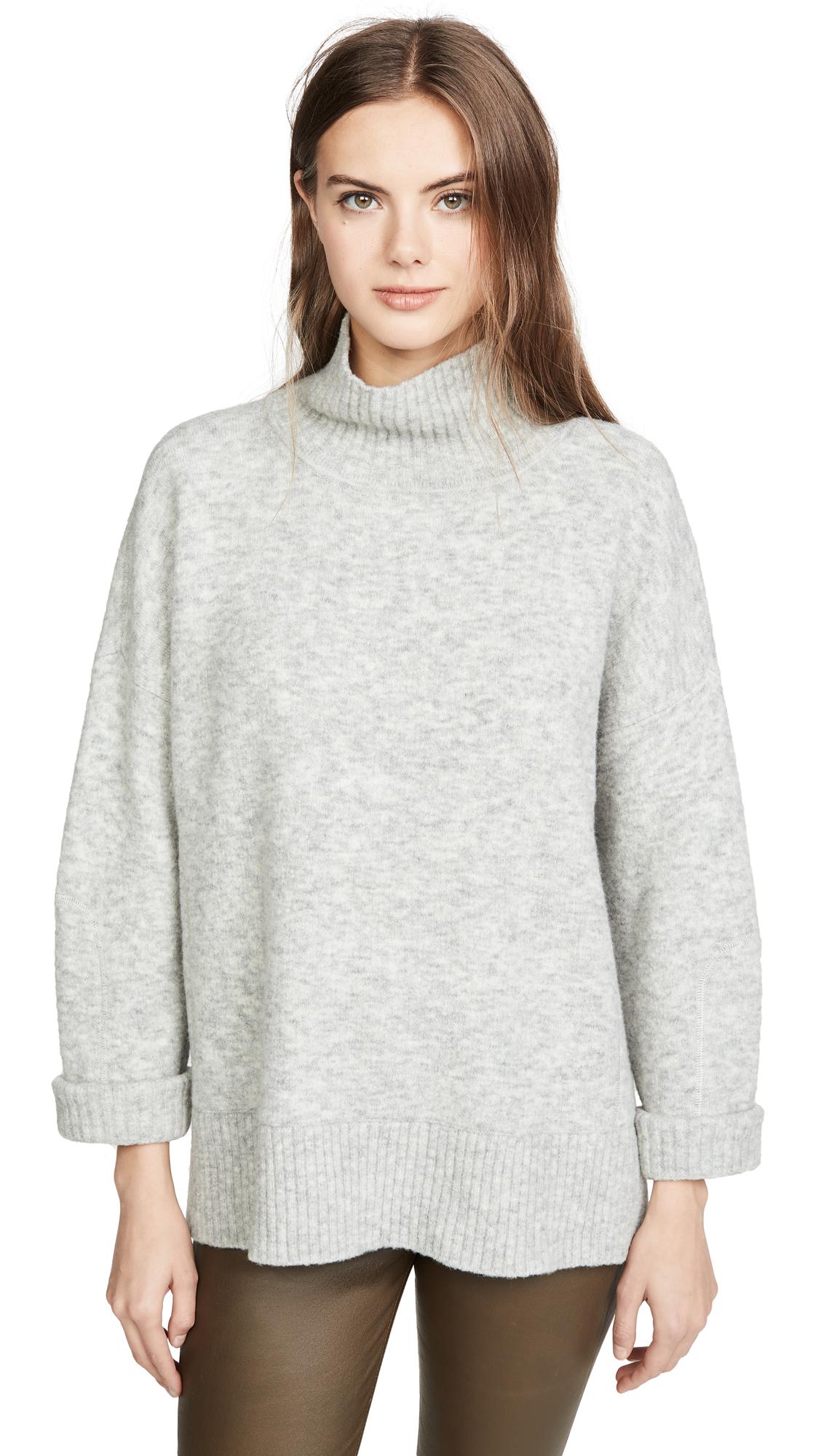 Buy Club Monaco online - photo of Club Monaco Overized Mock Neck Sweater