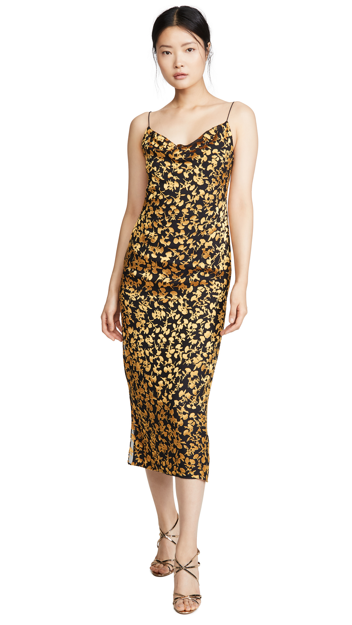 Buy Club Monaco online - photo of Club Monaco Burnout Slip Dress