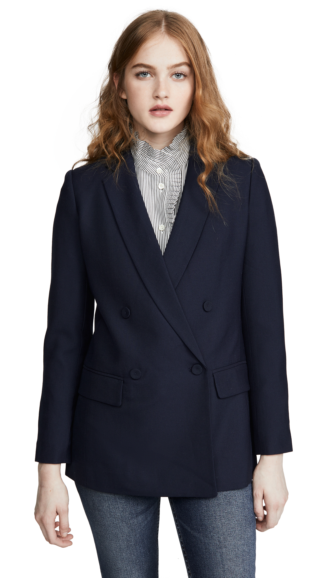 Buy Club Monaco online - photo of Club Monaco Self Covered Button Blazer