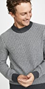 Club Monaco Cashmere Novelty Rib Sweater