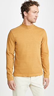 Club Monaco Mock Neck Long Sleeve T-Shirt