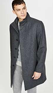Club Monaco Funnel Neck Coat