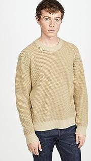 Club Monaco Cashmere Waffle Crew Sweater
