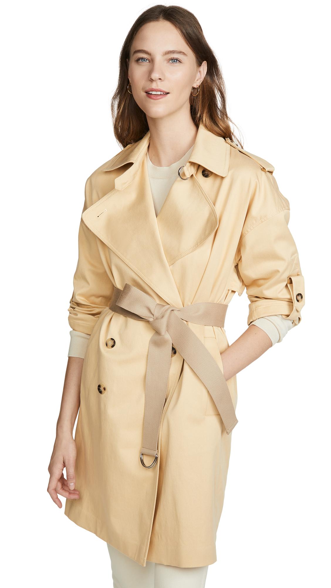 Buy Club Monaco ADJ Sleeve Trench Jacket online beautiful Club Monaco Jackets, Coats, Trench Coats