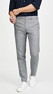 Club Monaco Sutton Texture Pattern Pants