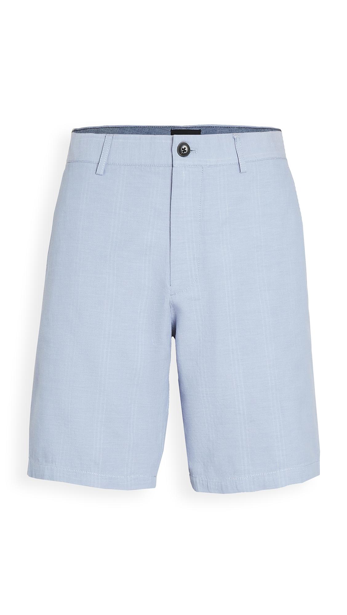 Club Monaco Maddox Doubleface Deck Stripe Shorts