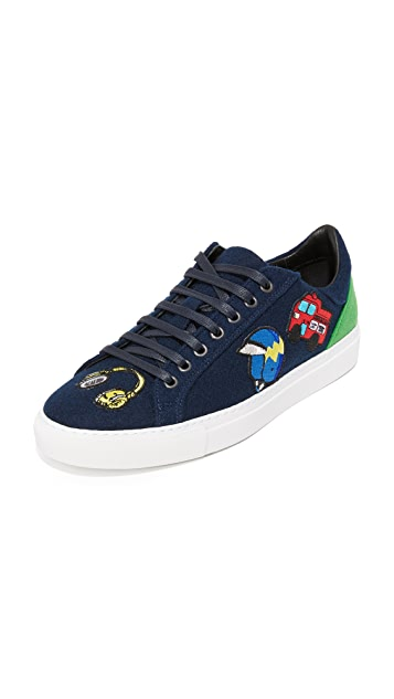 Mira Mikati Spray Can Patch Sneakers