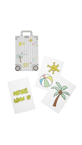 Mira Mikati Mira Mikati x Onnu Luggage Stickers