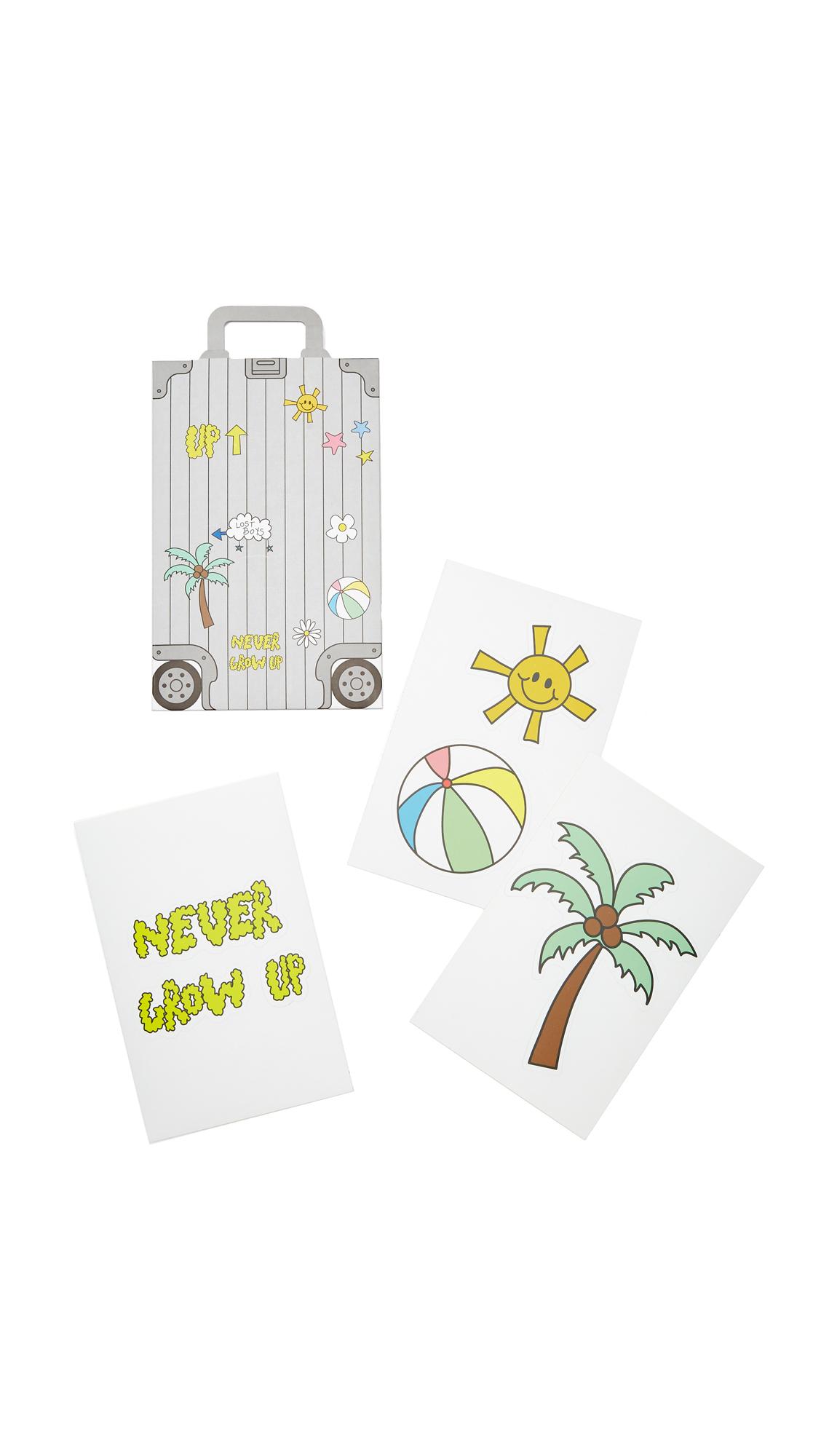mira mikati female mira mikati mira mikati x onnu luggage stickers multi