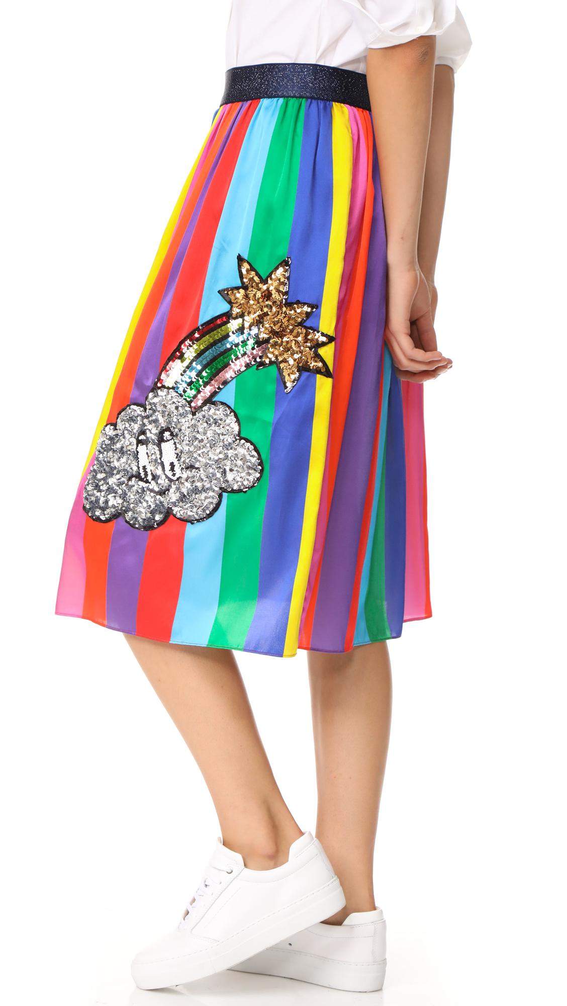 4d1f3ce8e91e Mira Mikati Monster Sequin Rainbow Skirt   SHOPBOP