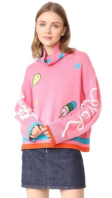 Mira Mikati Marshamllow Lover Pink Sweater