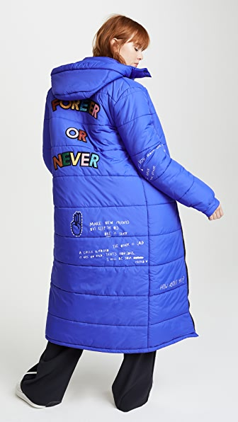 Mira Mikati Forever Or Never Puffer Jacket