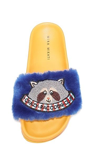 Mira Mikati Raccoon Patch Slides