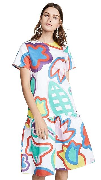 Mira Mikati Floral Dress