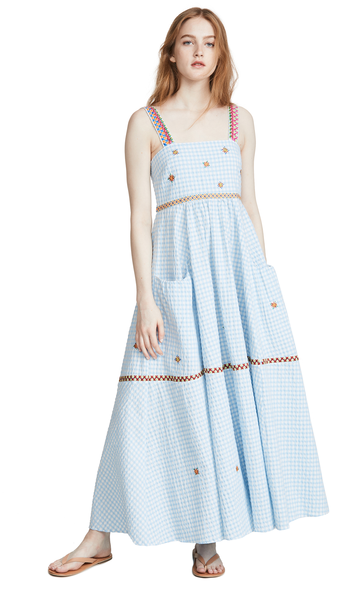 Mira Mikati Yarn Embroidered Cami Dress - 30% Off Sale
