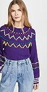 Mira Mikati Beaded Sweater