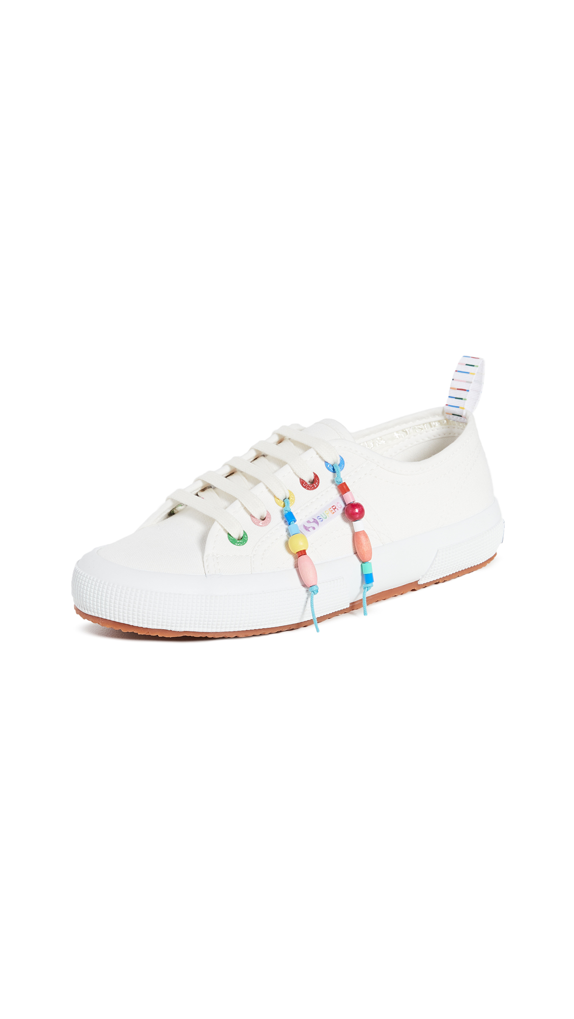 Mira Mikati x Superga Beaded Fringe Sneakers - 30% Off Sale