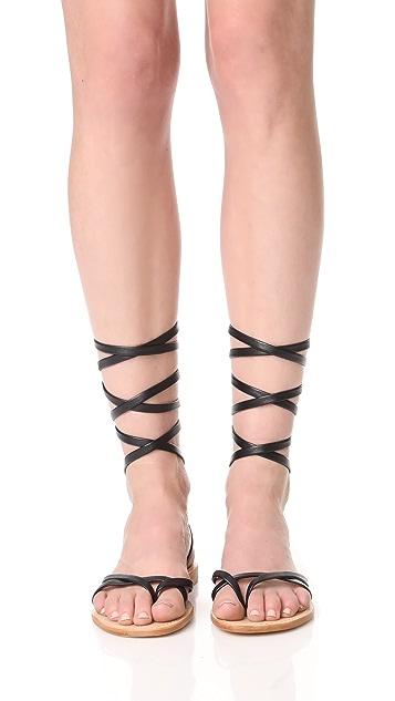 Cornetti Aiano Wrap Sandals