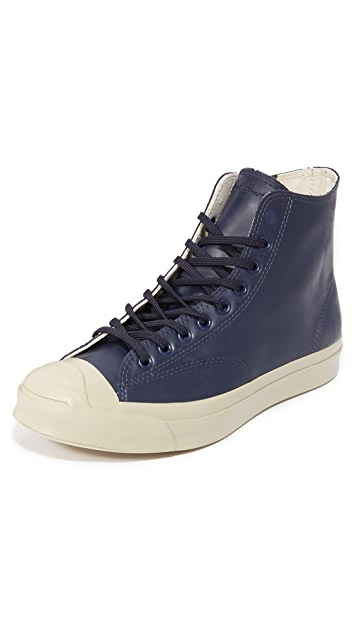 Converse Jack Purcell Signature Rubber High Top Sneakers