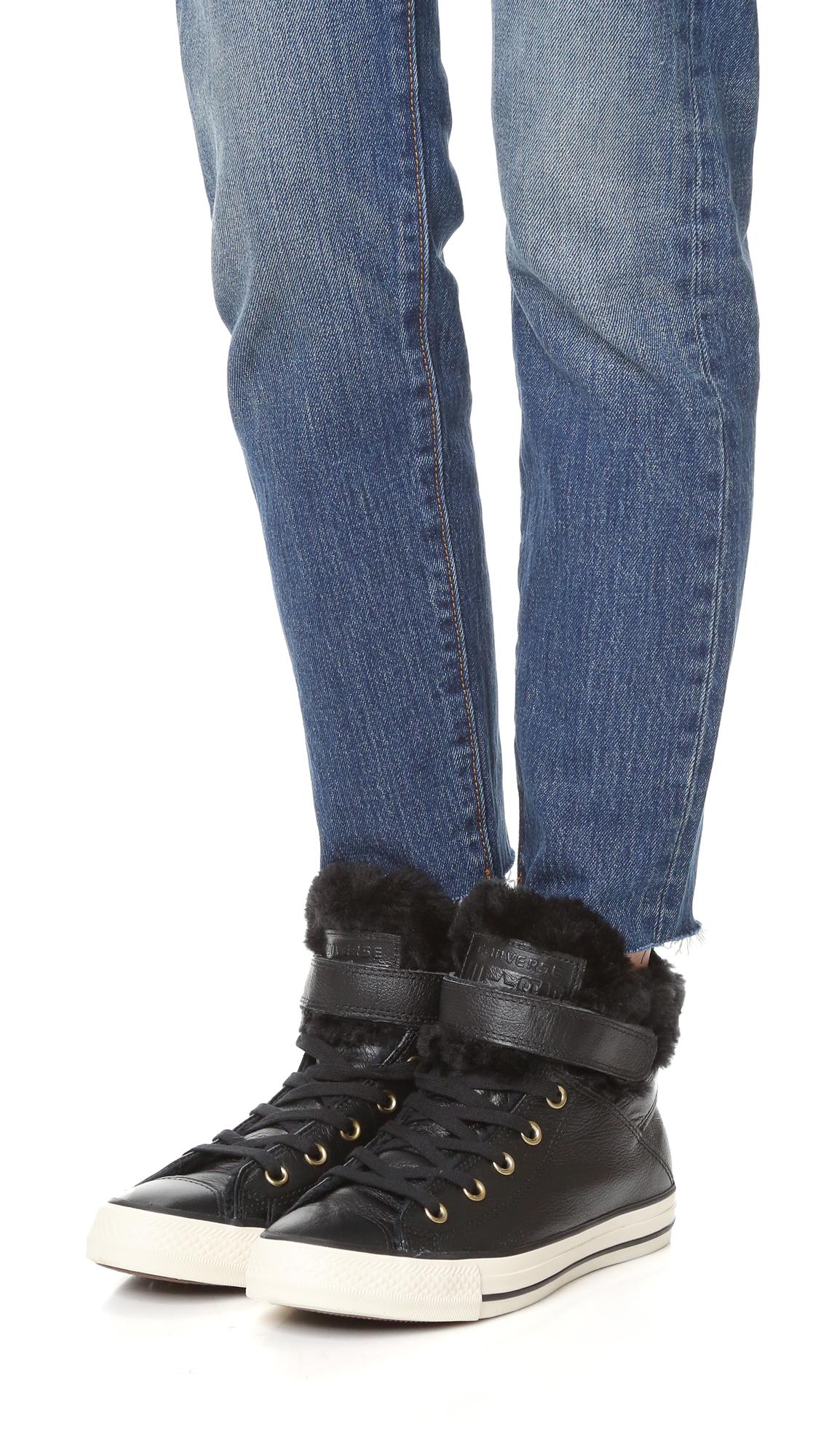 5356dd4e66ad Converse Chuck Taylor All Star Brea High Top Sneakers