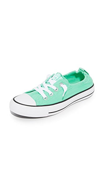 Converse Chuck Taylor All Star Shoreline Slip On Sneakers - Green Glow/White/Black
