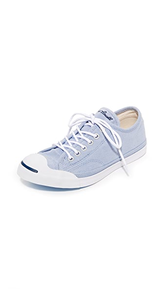 Converse Jack Purcell LP OX Sneakers - Granite/White/Navy