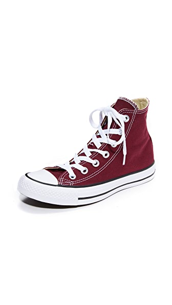 Converse Chuck Taylor All Star High Top Sneakers - Burgundy