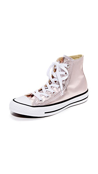 Converse Chuck Taylor All Star High Top Sneakers - Rose Quartz/White/Black