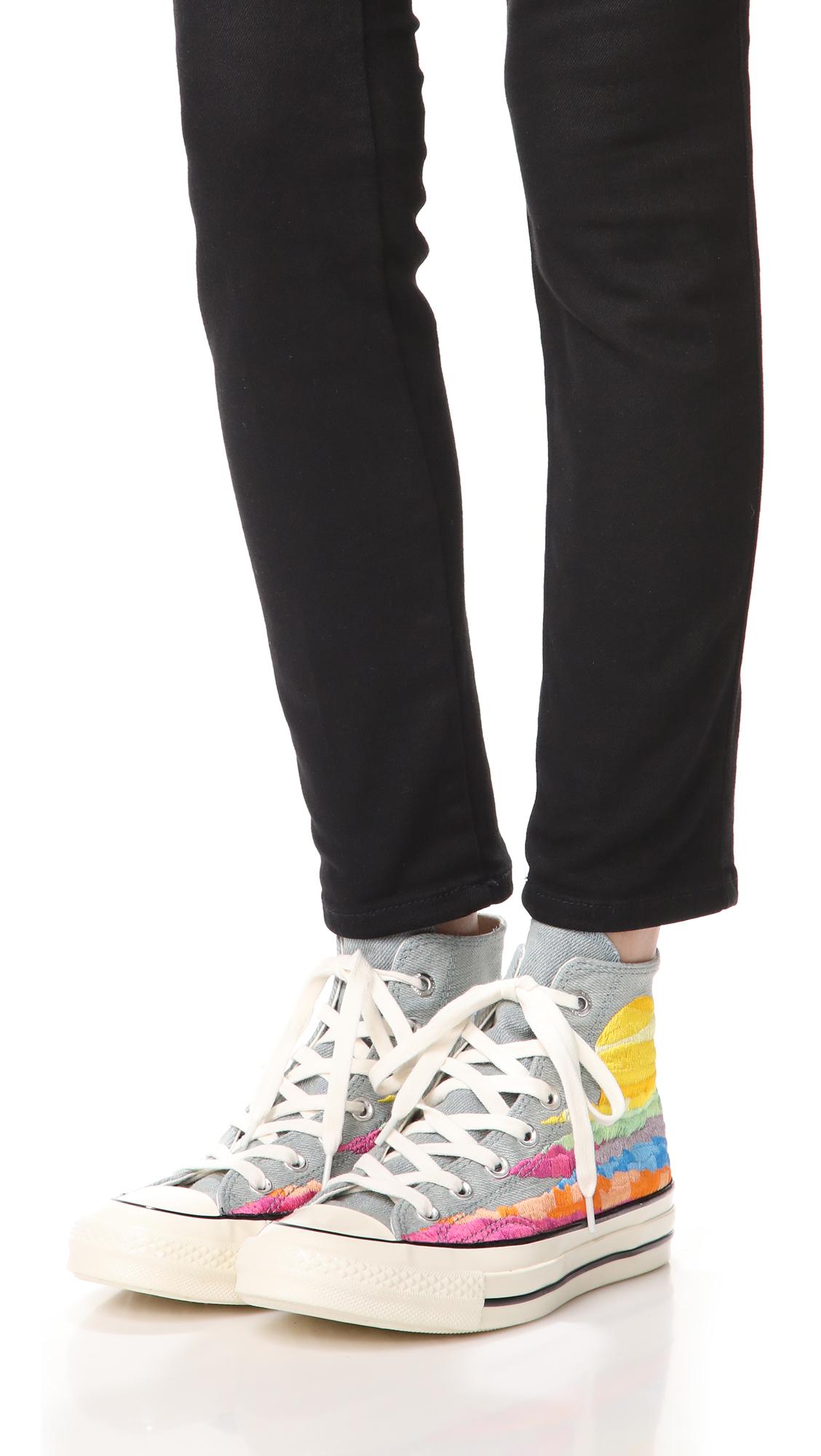80a89332936426 Converse Chuck Taylor All Star x Mara Hoffman  70s High Top Sneakers ...