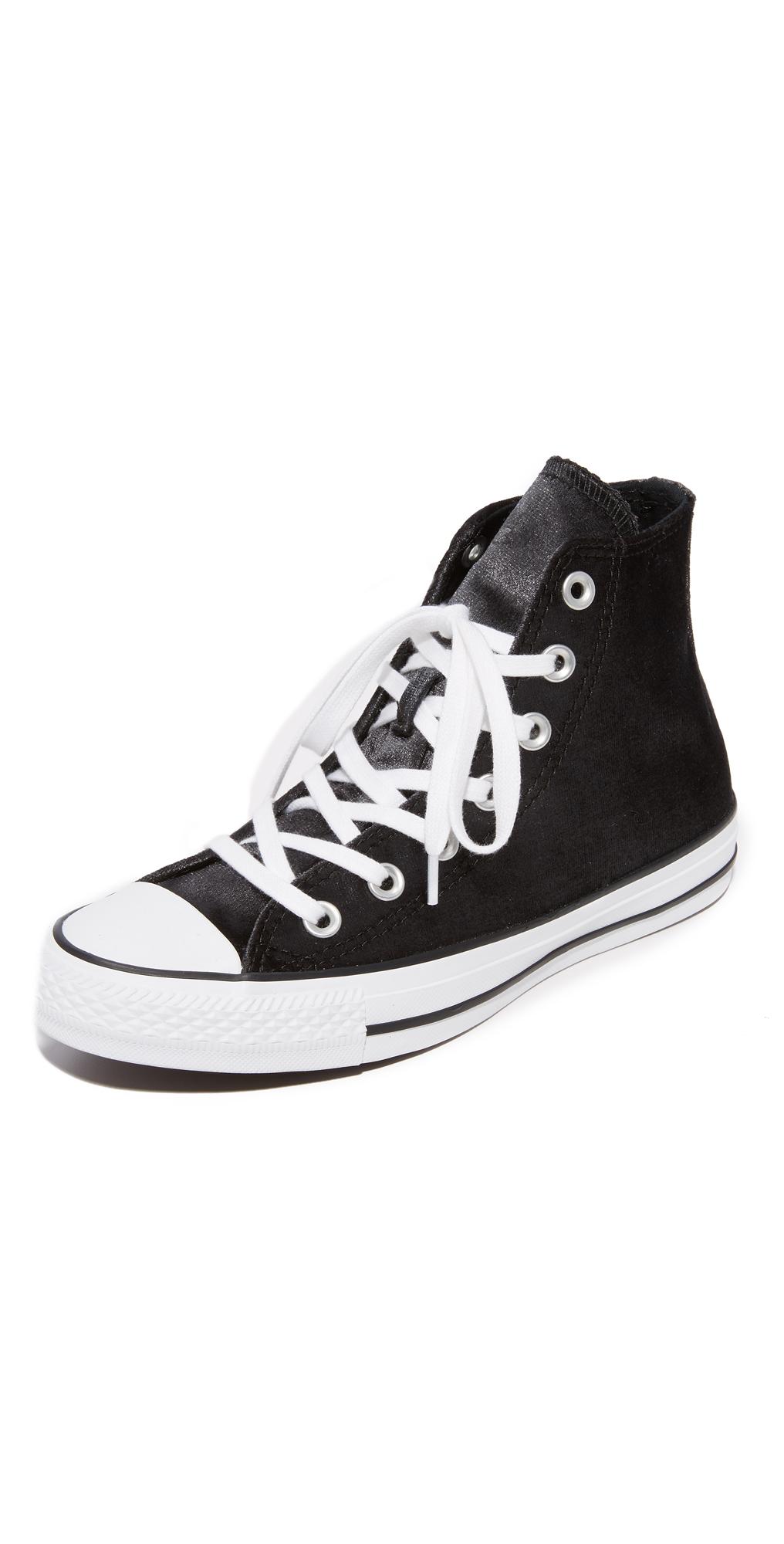 Chuck Taylor All Star Velvet High Top Sneakers Converse