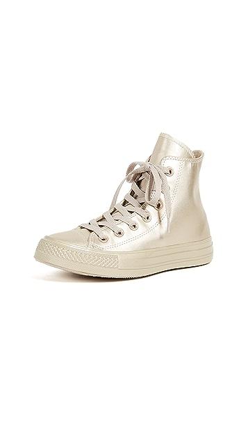 Converse Chuck Taylor All Star Metallic High Top Sneakers