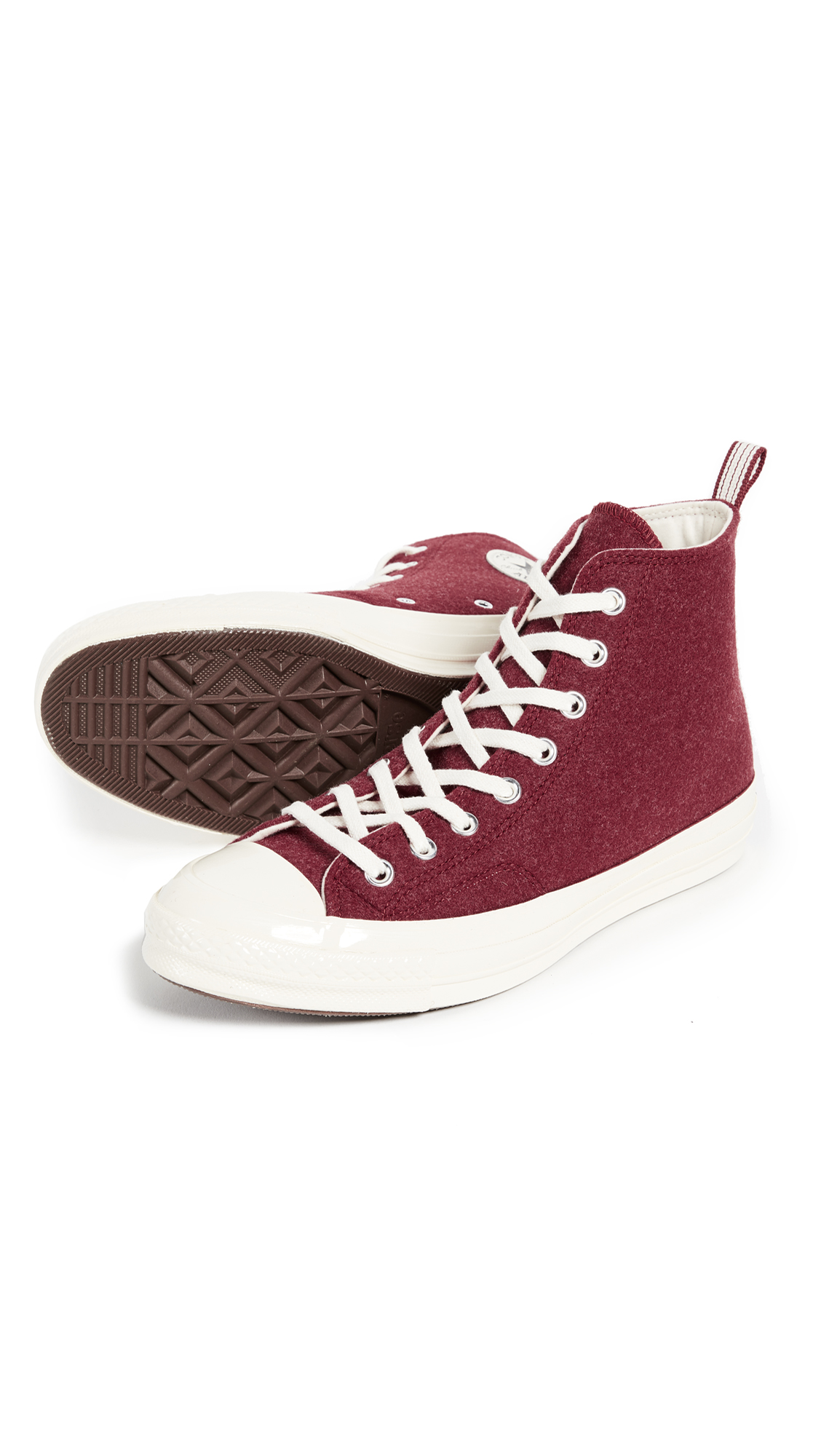 a53345b99a8 Converse Chuck Taylor  70s Heritage Felt High Top Sneakers