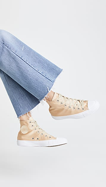 Converse Chuck Taylor All Star High Satin Sneakers
