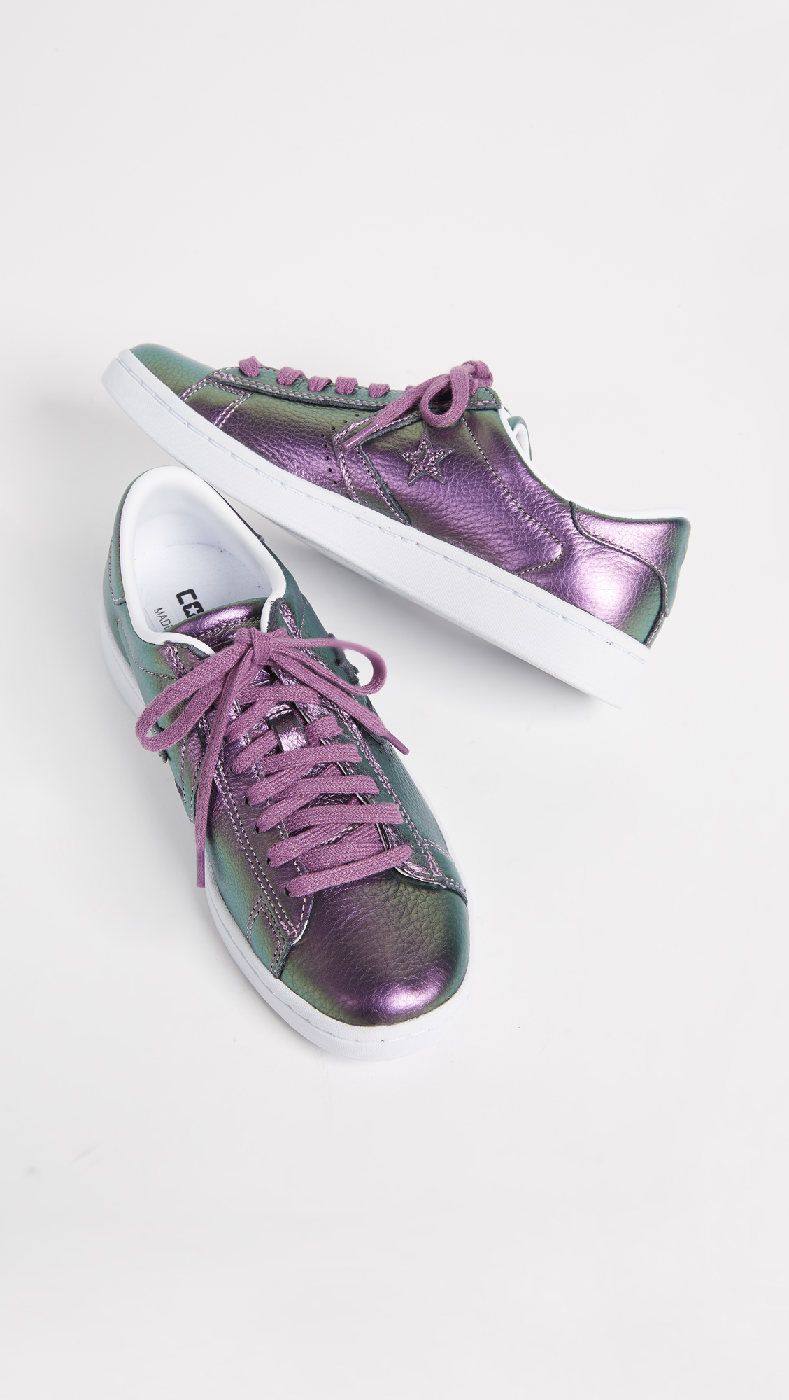 68ac0531b8a5b9 Converse Pro Leather LP Iridescent Ox Sneakers