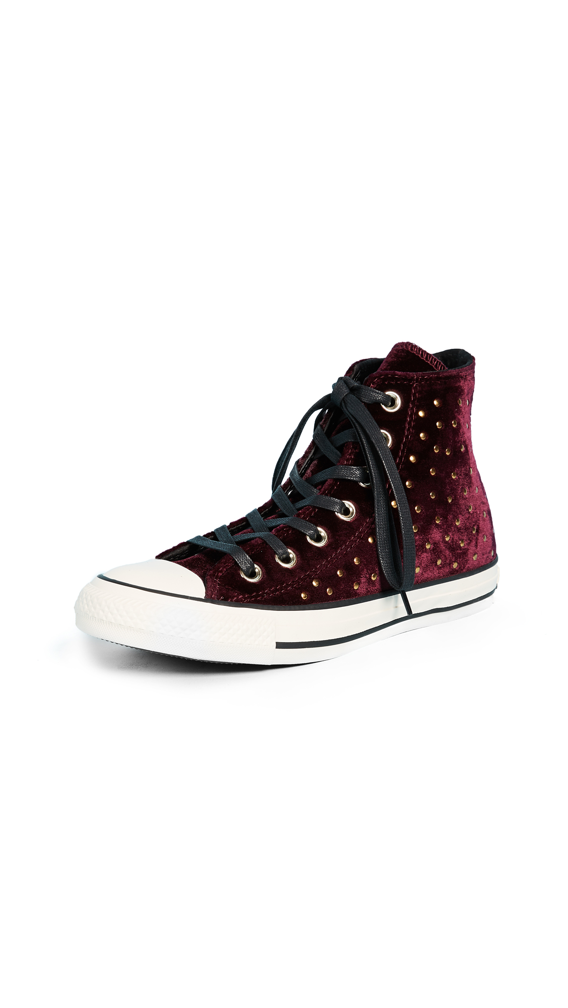 Converse Chuck Taylor All Star High Top Sneakers - Dark Sangria/Black/Turtledove