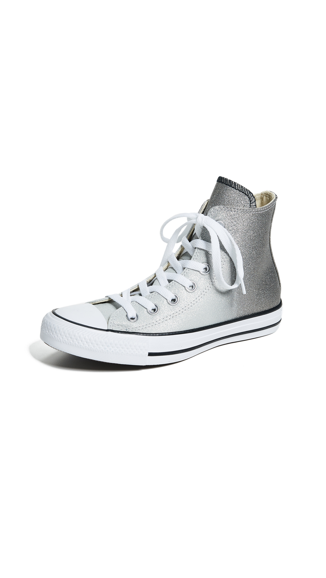 Converse Chuck Taylor All Star High Top Sneakers - Ash Grey/Black/White