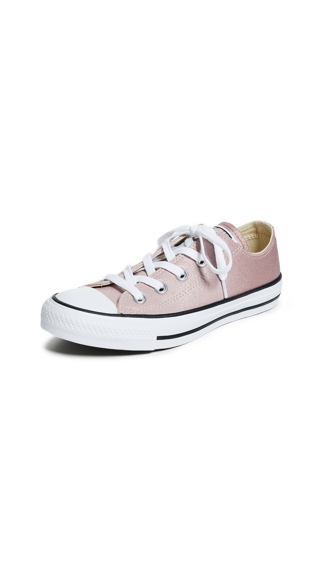 Converse Chuck Taylor All Star OX Sneakers - Particle Beige/Saddle/White