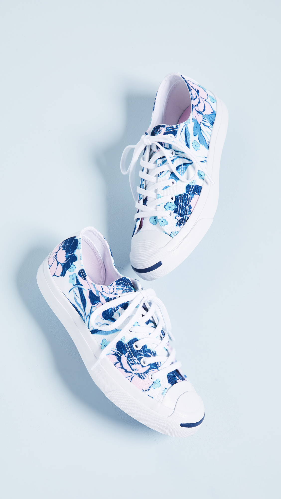 7b5c265d52f602 Converse Jack Purcell Floral Print Sneakers