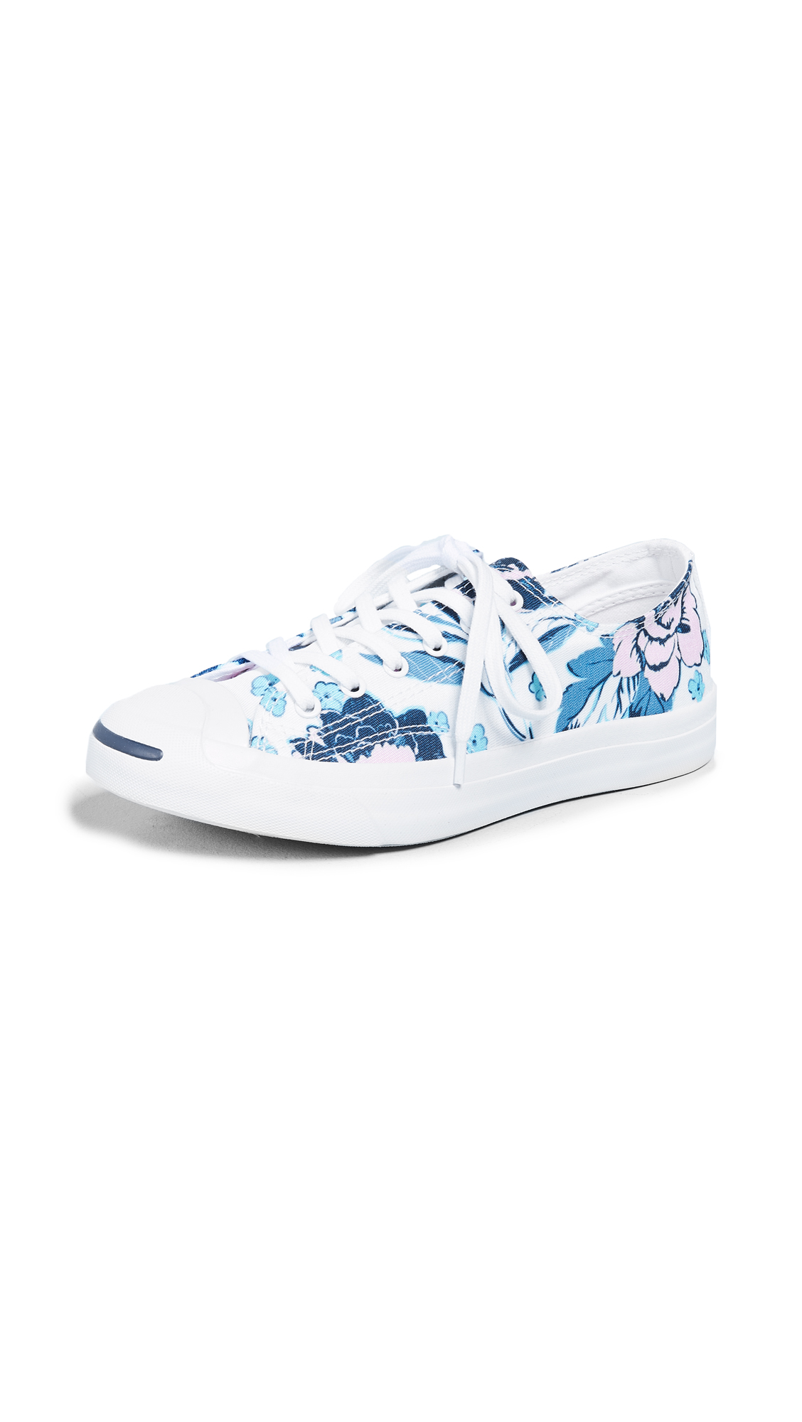 JACK PURCELL FLORAL PRINT SNEAKERS