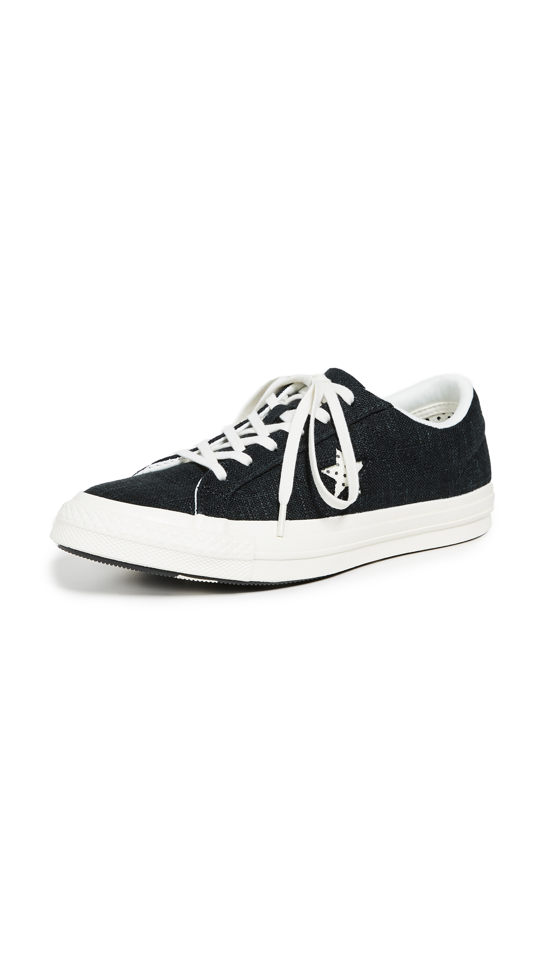 Converse One Star Ox Sneakers - Black