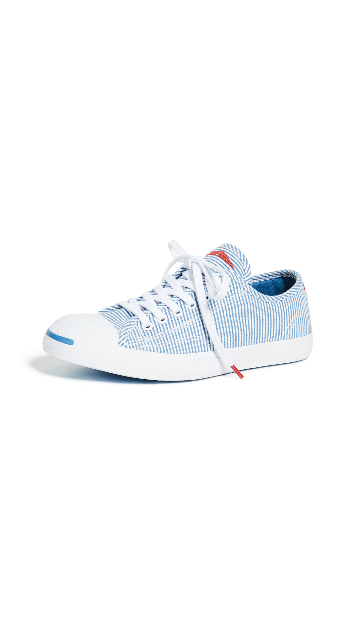 Converse Jack Purcell Striped Sneakers - Aegean Storm