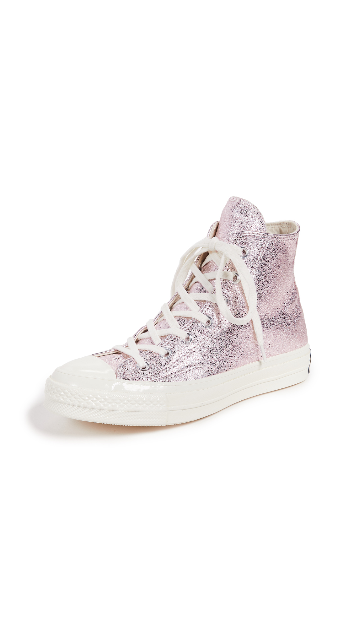 Converse Chuck 70s High Top Heavy Metal Sneakers In Rust Pink