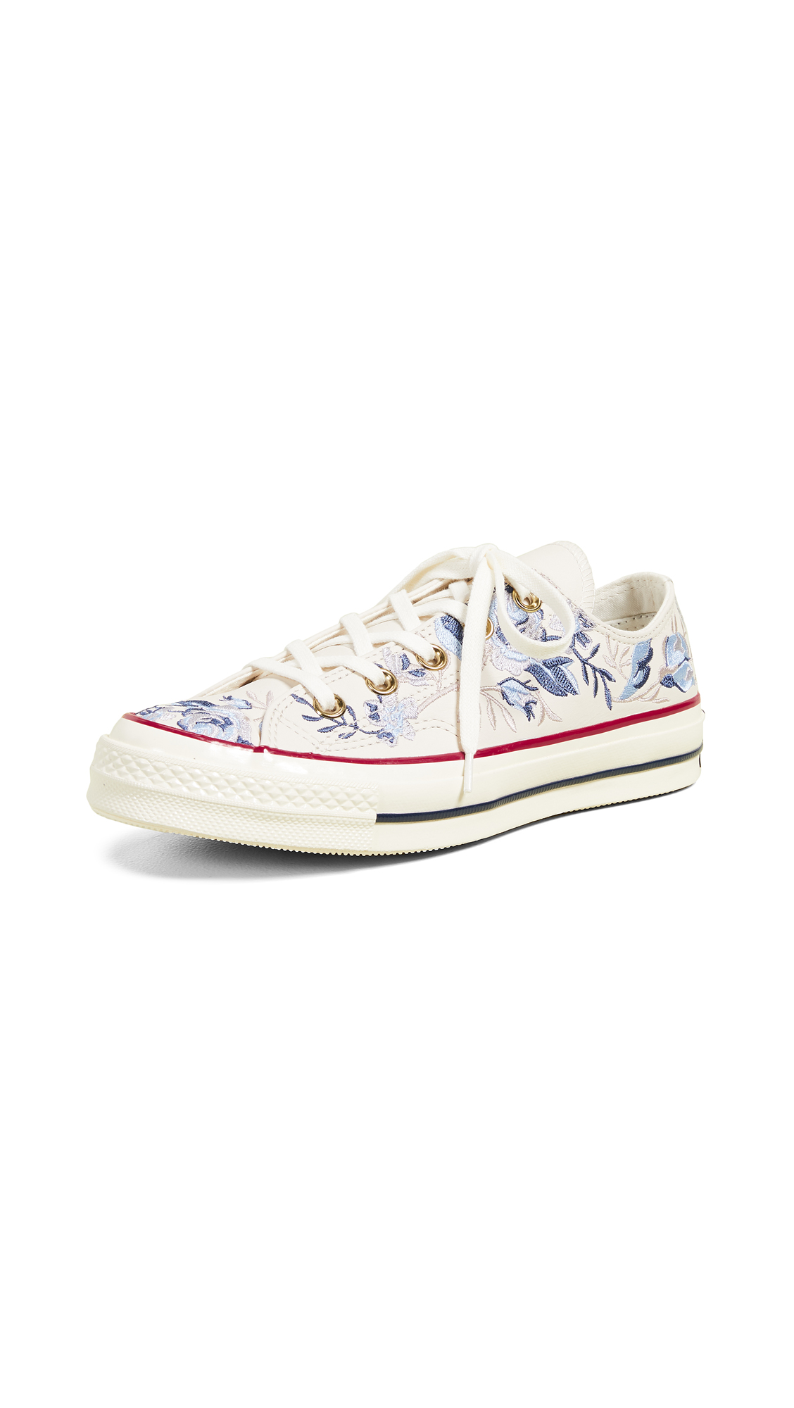 fd2e77b44921 Converse Chuck 70s Oxford Parkway Floral Sneakers In Driftwood Provence  Purple